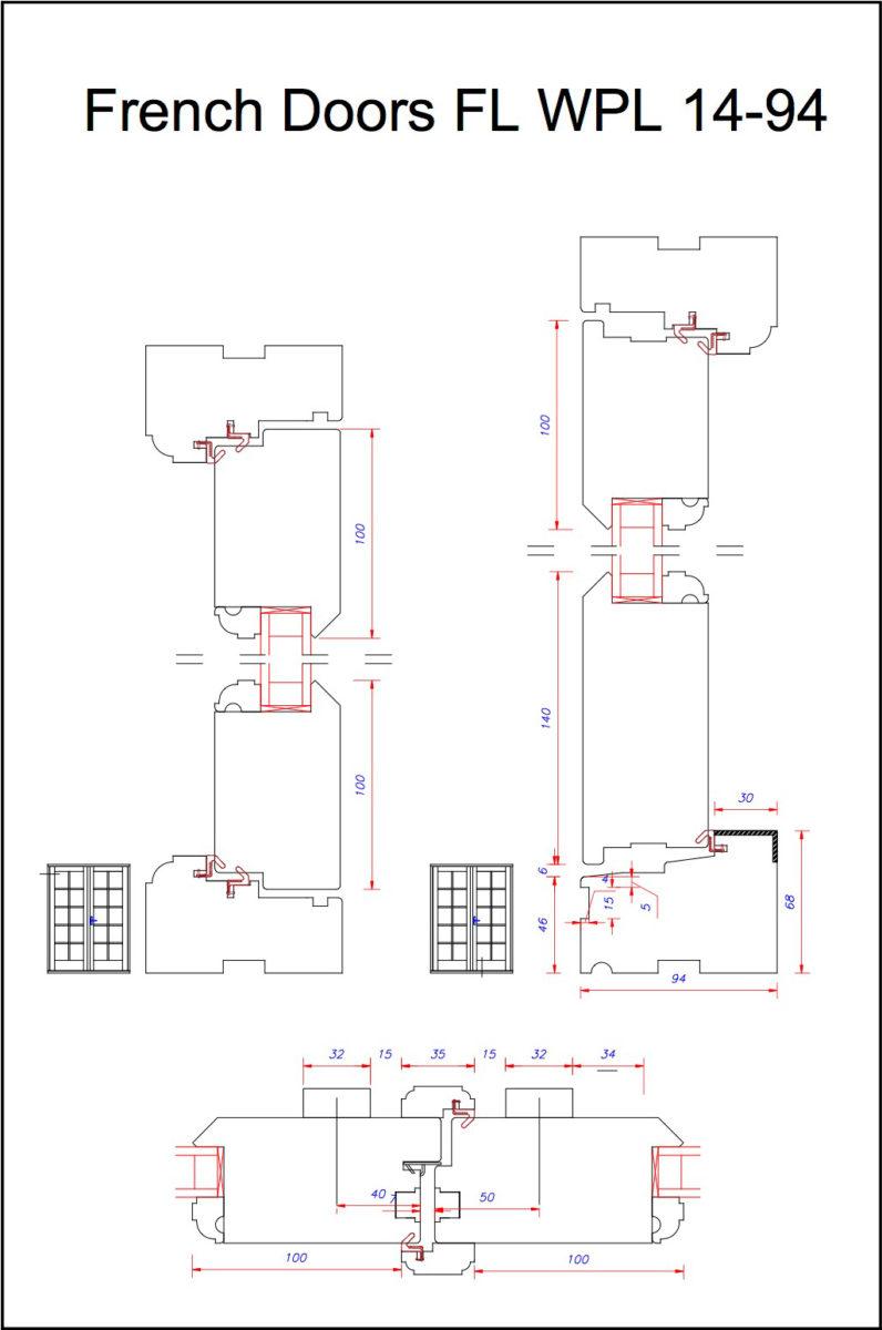 FRENCHDOORS-FL-WPL14-94-Q4SASH-Model