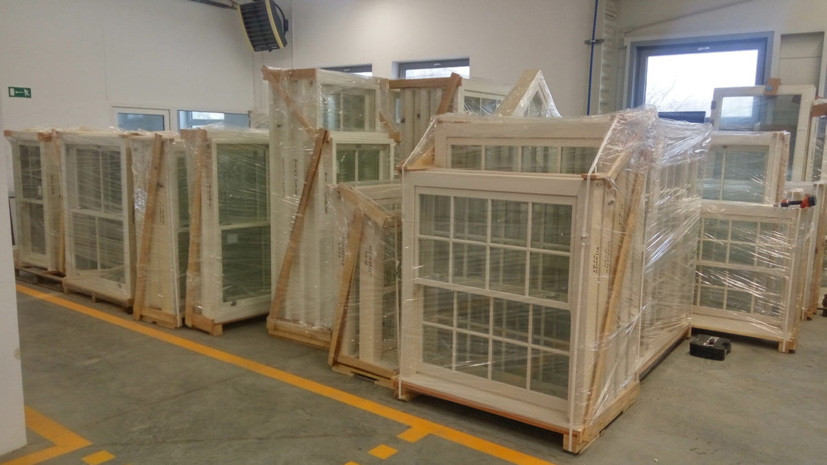 sash windows warehouse storage sunlux sash