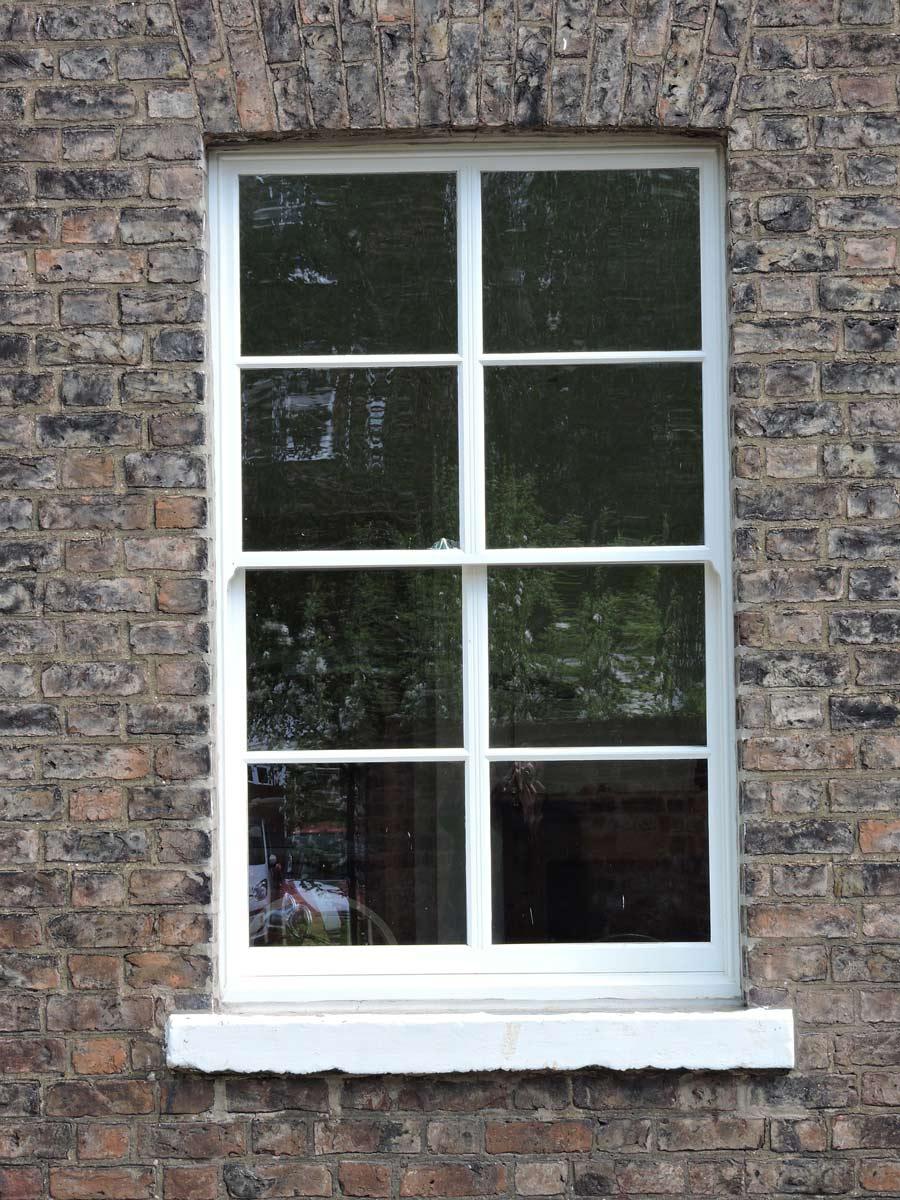 Window anatomy - parts of a sash window - Sunlux Sash Windows