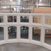 bay window casements