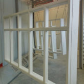painted casement windows