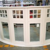 timber casement bay window england sunlux ltd