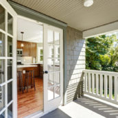 french door patio