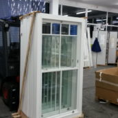 sash windows ready for dispatch